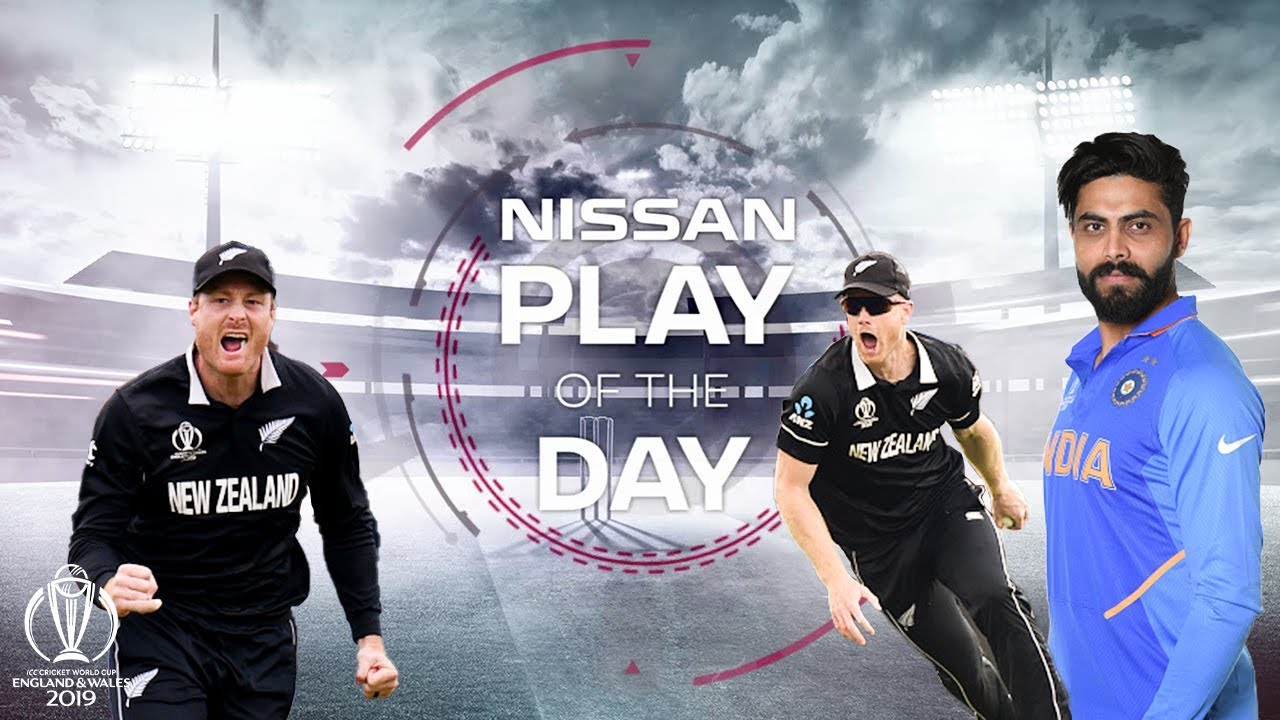 Nissan Play of the Day | India vs New Zealand | ICC Cricket World Cup 2019