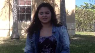 2013 xfactor contestant Pre audition interview #2 Thumbnail