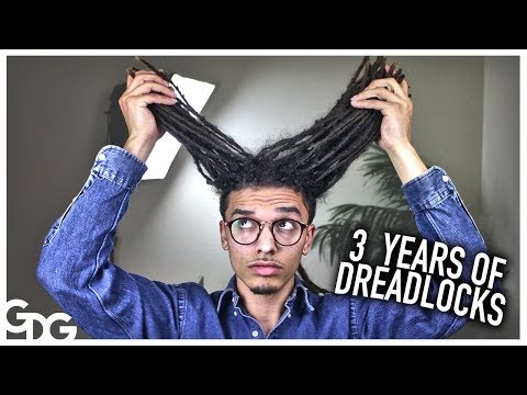 3 Years Of Growing Dreadlocks