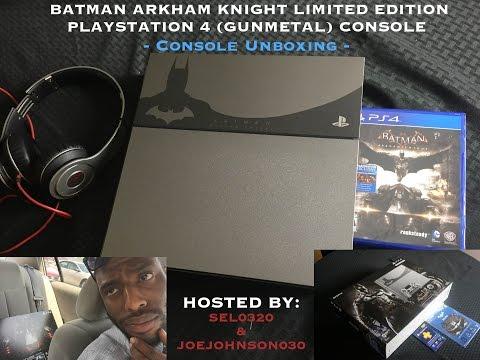 console-unboxing---batman:-arkham-knight-limited-edition-bundle-ps4-!!