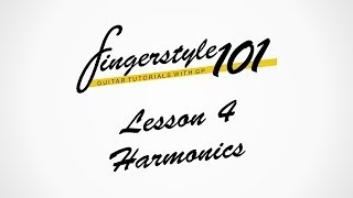 [Tutorial]Fingerstyle 101 - Lesson 4: Harmonics | Tutorial by Peter Gergely