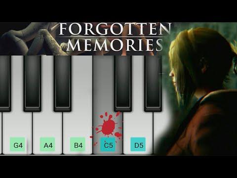 Forgotten Memories. Piano #Sheets