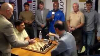 vuclip Viswanathan Anand vs Veselin Topalov: Sinquefield Chess Cup Ultimate Moves Live 2015