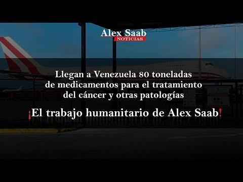 80 toneladas de medicamentos para el tratamiento del cáncer y otras patología - Alex Saab News