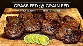 GRASS-FED vs GRAIN-FED steak experiment which is best?