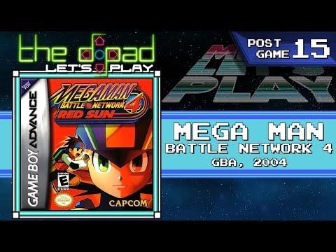 """""""I Think You're Broken"""" - POSTGAME PART 15 - Mega Man Battle Network 4: Red Sun"""