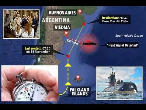La Cuenta Atrás Para Encontrar el Submarino ARA San Juan de Argentina