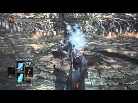 DARK SOULS™ III: SL125 Sorcerer vs NG+ ludex Gundyr solo no damage