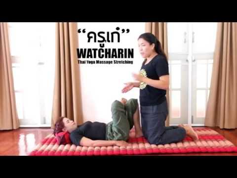 No.5-6 Thai Yoga Massage   Hip Stretching