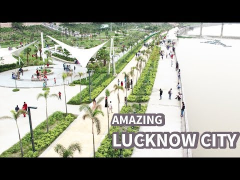 Beautiful Lucknow City | Lucknow City Tour | Gomti Riverfront