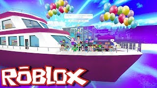 250K YACHT PARTY | Robloxian Highschool ROBLOX Roleplay