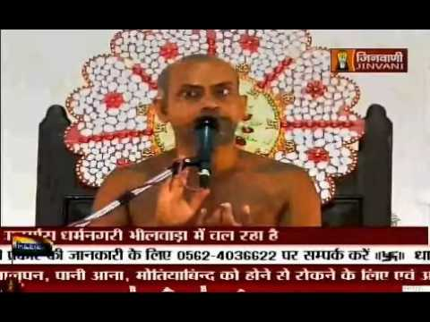 Vishudh vani 8 oct 2015 Jinvani channel by...