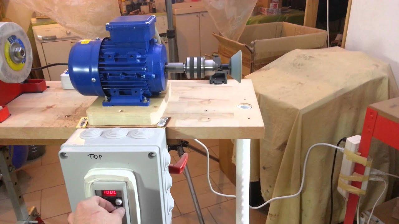 Nuovo motore per levigare e lucidare youtube for Motore inverter lavatrice