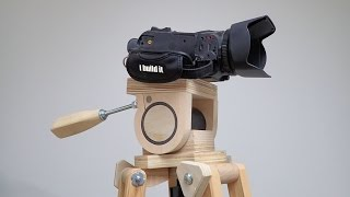 Making A Head For The Wooden Tripod, Part 2