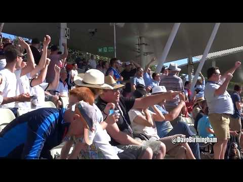 Davo's Diary: England fans at Edgbaston (v Pakistan)