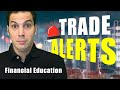 Options Trading Trade Alerts Video  - Only $19 for 7 Days - Financial Education