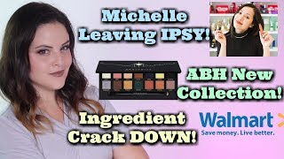 What's Up in Makeup NEWS! Michelle Phan Leaves Ipsy! ABH Drops Holiday 2017! + Walmart Steps Up!