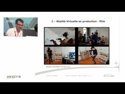 """Conférence """"Réalité virtuelle en production"""""""