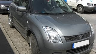 How to replace the air cabin filter   dust pollen filter on a Suzuki Swift