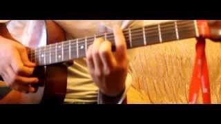 Jin - Buludlar gitarada ifa dersi