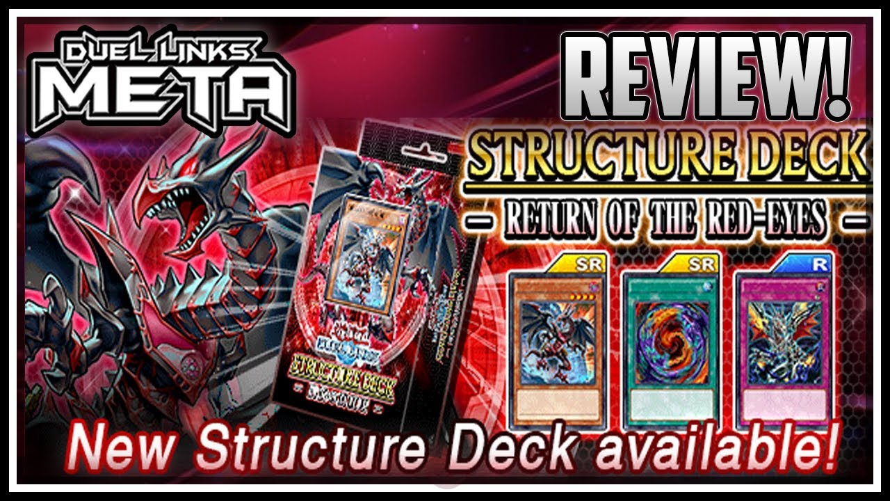 NEW Red Eyes Structure Deck Review! [Yu-Gi-Oh! Duel Links]