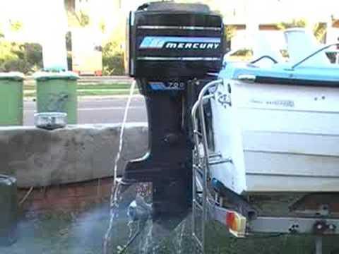 Andrew 70 Hp Mercury Boat Motor Test Youtube