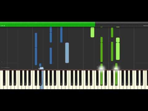 Brigmore Lullaby - Dishonored 2 - Synthesia Tutorial Piano //Seraph Piano Sheets