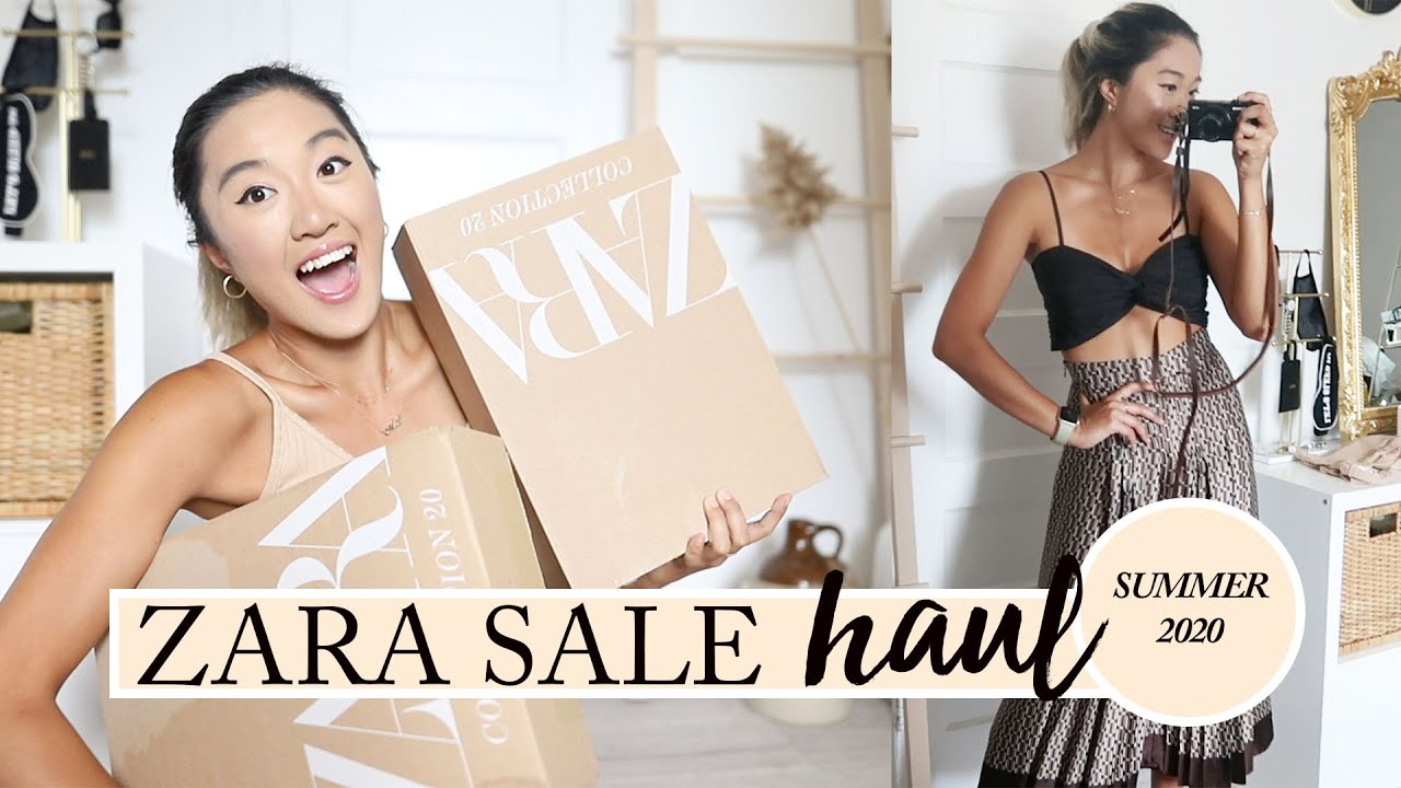 ZARA SUMMER SALE HAUL: What I Got For $165 (6 Items)