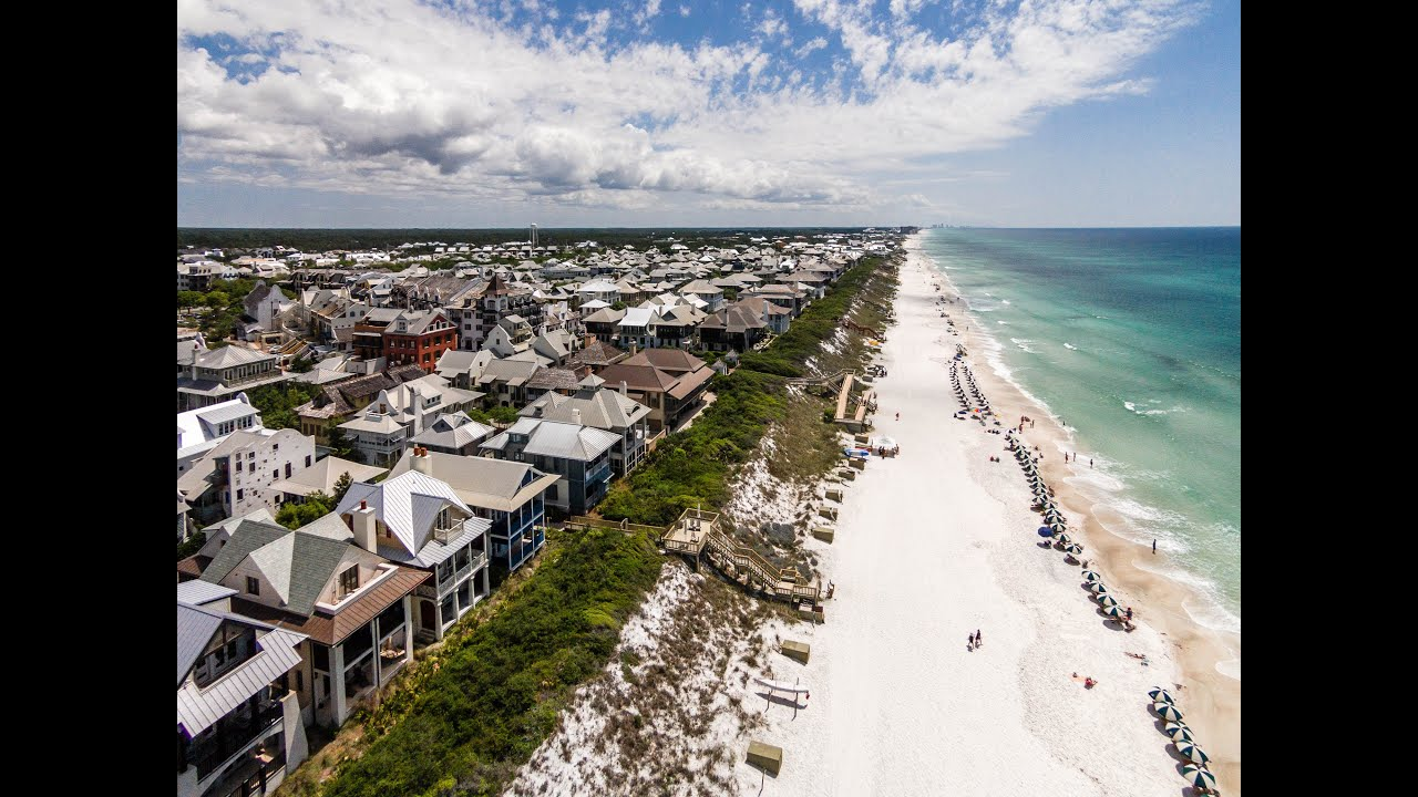 Rosemary Beach Florida 4br Gulf View Vacation Rental Home