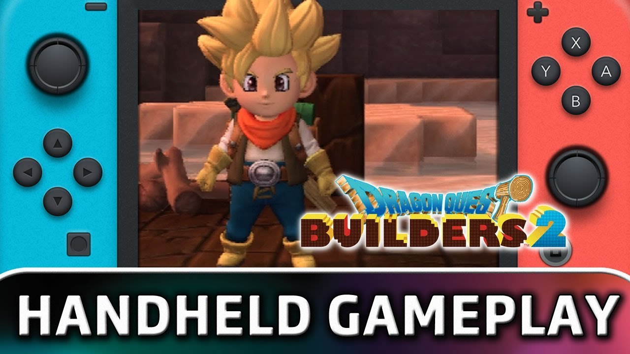 Dragon Quest Builders 2 | 15 Minutes in Handheld MODE on Nintendo Switch