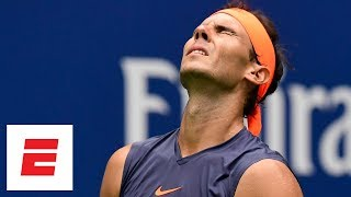 2018 US Open highlights: Rafael Nadal retires in third set vs Juan Martin del Potro | ESPN