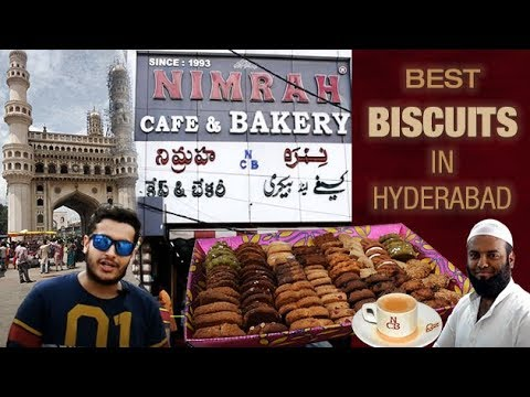 LIVE BISCUIT MAKING IN BIG OVEN😱 | NIMRAH CAFE AND BAKERY | CHARMINAR | HYDERABAD