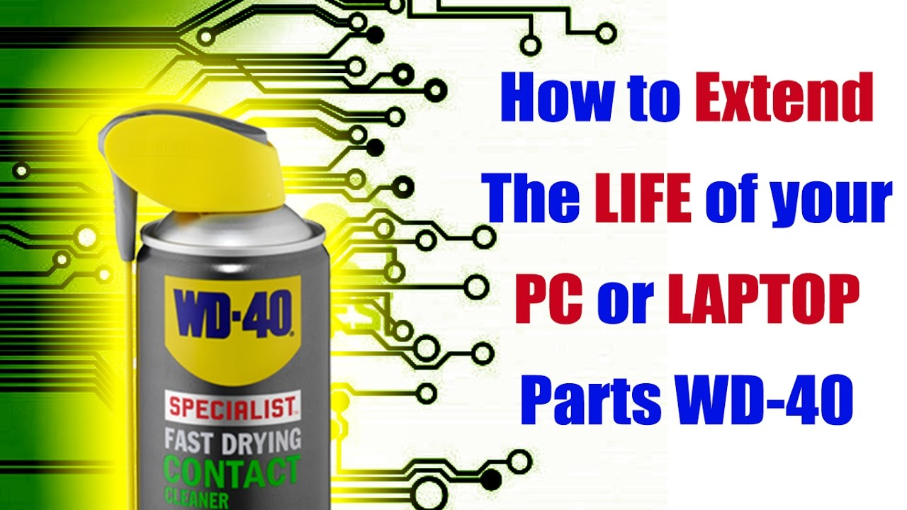 How To Safely Clean Wash Pc Laptop Circuit Boards Parts W Printed Board Cleaning Machine Wd 40 Specialist Contact Cleaner Youtube