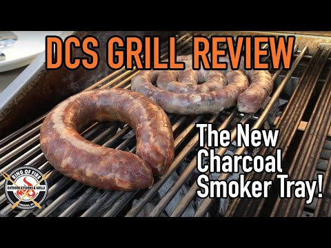 DCS Grill Review: First Review of the DCS Charcoal Smoker Tray