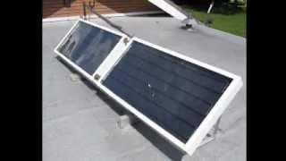 Solar Water Heating Panels DIY