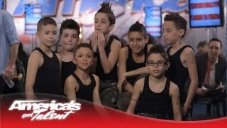 The Struck Boyz Show Off their Hip-Hop Moves to Justin Bieber - America's Got Talent