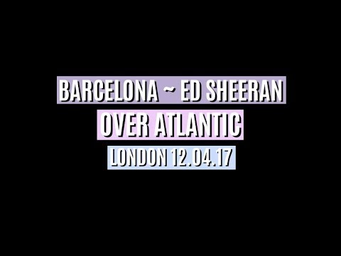 OVER ATLANTIC Barcelona - HEADLINE TOUR LONDON 12/04/2017