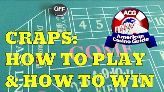 Craps: How to Play and How to Win - Part 3 - with Casino Gambling Expert Steve Bourie