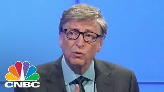 Bill Gates Führt $1B Fonds Zu Schaffen, Billige Und Saubere Energie | Squawk Box | CNBC