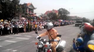 Hình ảnh mà mình quay được trong ngày đưa tang Đại tướng Võ Nguyên Giáp