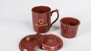 Нано Турмалиновая чаша HealthCup от NovuMedical