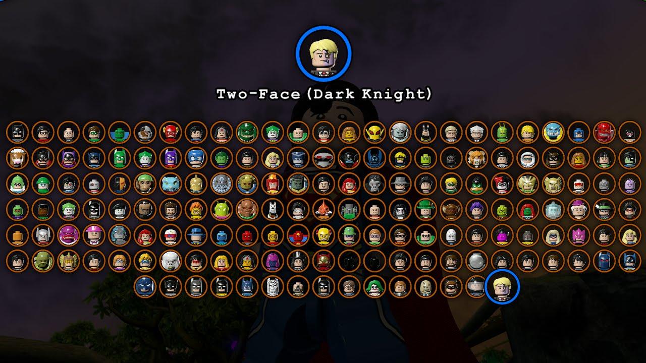 LEGO Batman 3 Beyond Gotham - All Characters Unlocked ...