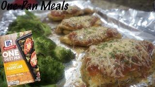 One-Pan Recipes | McCormick One Sheet Pan Parmesan | Chicken Parmesan Recipe