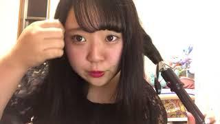現役デブアイドルの時短ヘアアレンジ卍橋本一愛
