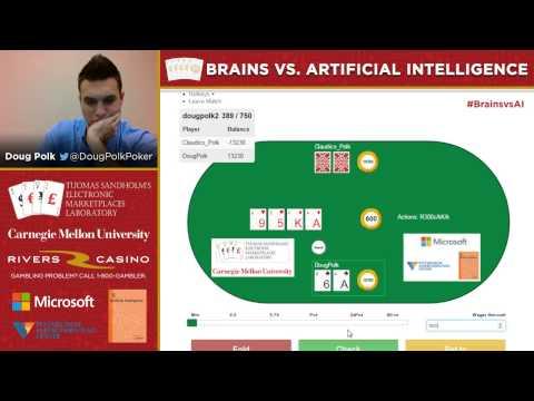 Brains vs. Artificial Intelligence - 80,000 Hands No-Limit Hold'Em - 1 / 3