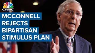 Mitch McConnell rejects bipaŗtisan $900 billion coronavirus stimulus plan
