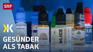 E-Zigaretten im Test: So gefährlich sind sie wirklich | 2014 | SRF Kassensturz
