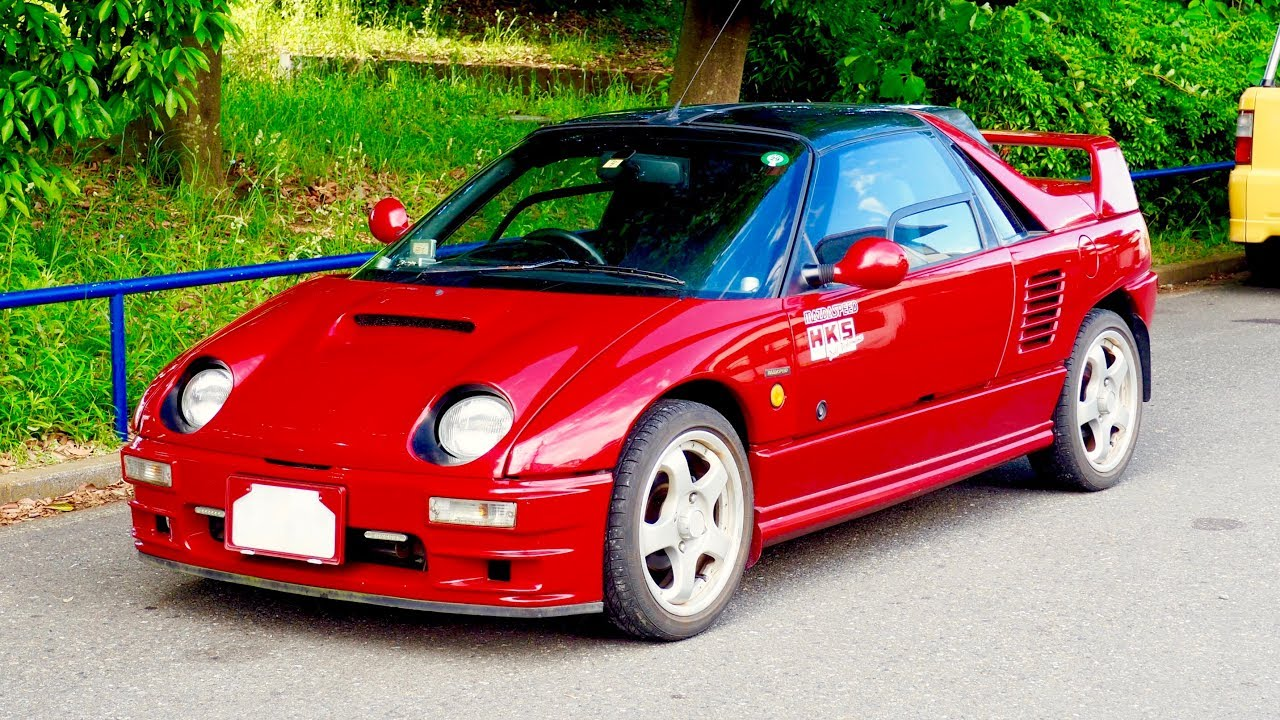 Car Sale Contract >> 1992 Mazda Autozam AZ-1 Turbo (USA Import) Japan Auction Purchase Review - YouTube