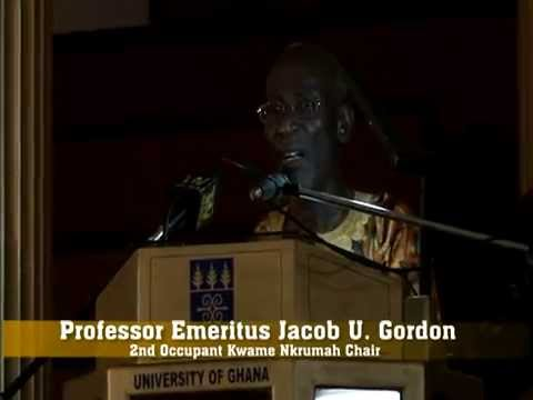 Professor Emeritus Jacob U. Gordon: Winning the Future for African Studies!!!