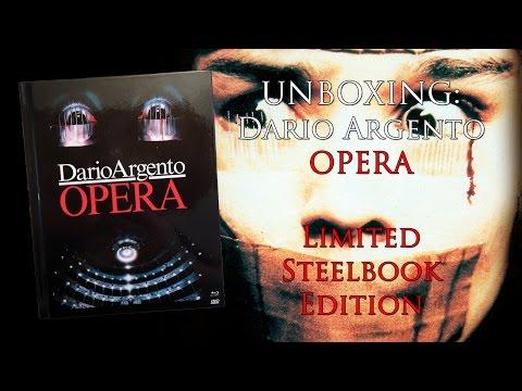 Unboxing - Dario Argento - Opera - Limited Mediabook Edition